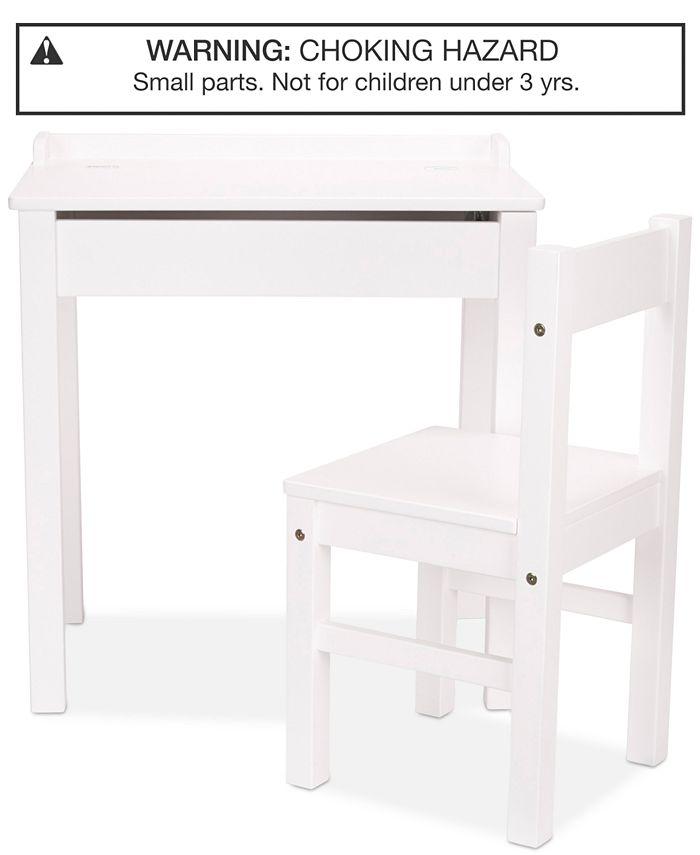 Melissa and Doug - Wooden Lift-Top Desk & Chair Set