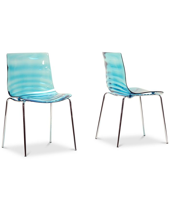 Furniture - Nohea Mod Dining Chair (Set of 2), Quick Ship
