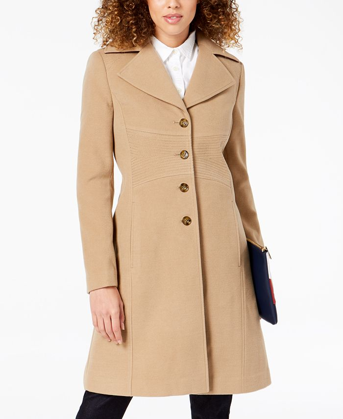 Tommy Hilfiger Single Ted Walker, Tommy Hilfiger Peacoat With Hood