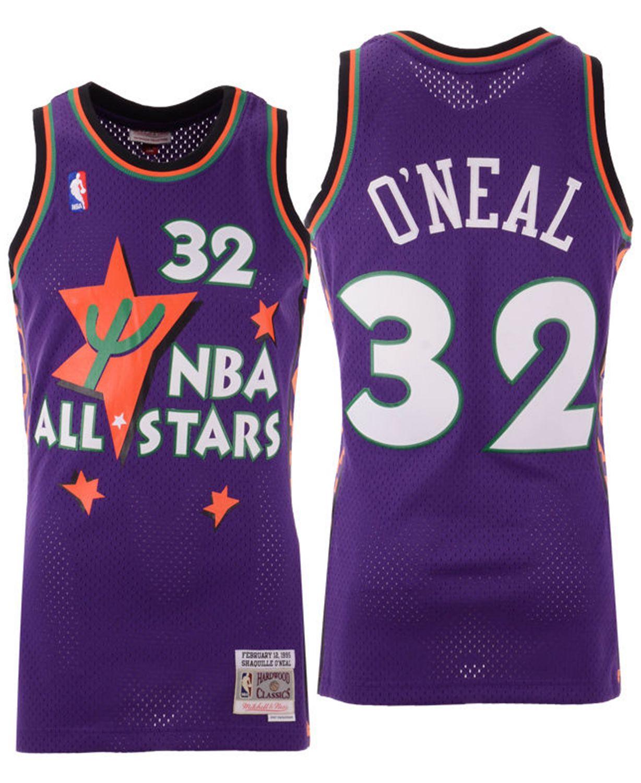Mitchell & Ness Men's Shaquille O'Neal NBA All Star 1995 Swingman Jersey & Reviews - Sports Fan Shop By Lids - Men - Macy's