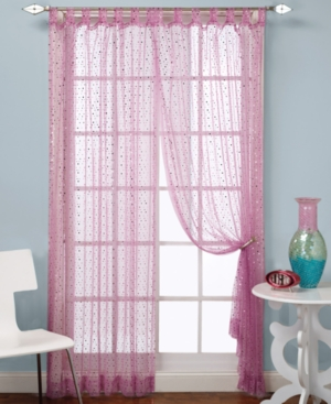 "Beacon Looms Window Treatments, Groovy Sequin Panel 50"" x 84"" Bedding"