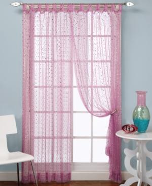 "Beacon Looms Window Treatments, Groovy Sequin Panel 50"" x 84"" Bedding"