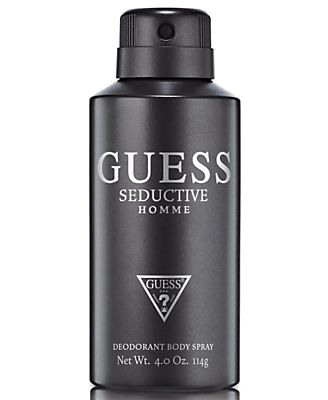 GUESS Seductive Homme Deodorant Body Spray, 4 oz