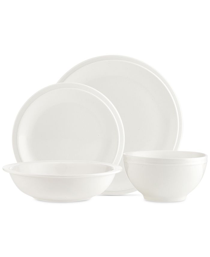 Godinger - Chaddsford White 16-Pc. Dinnerware Set