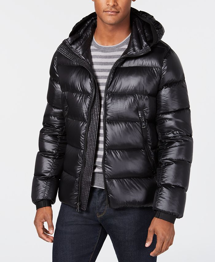 Calvin Klein - Men's Slim-Fit Hooded Down Jacket