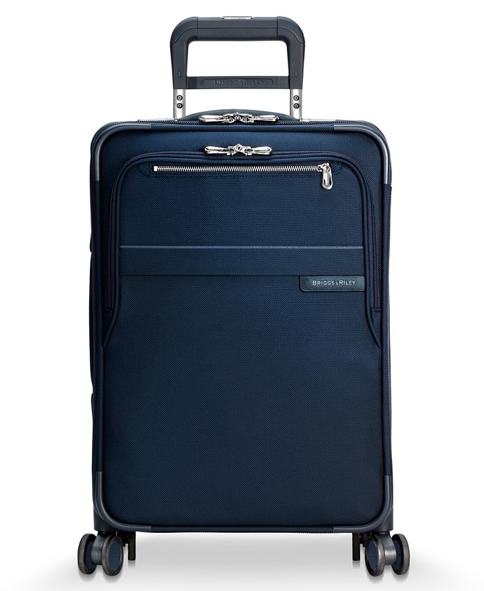 """Briggs & Riley - Baseline 22"""" Expandable Carry-On Spinner Suitcase"""