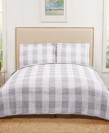 Truly Soft Everyday Buffalo Plaid Twin XL Quilt Set