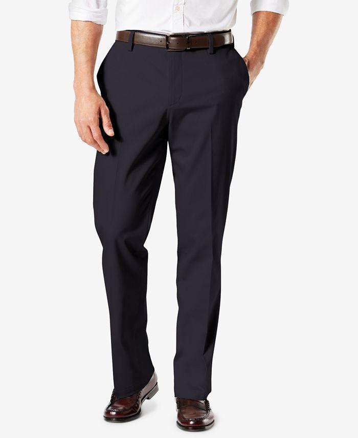 Dockers - Men's Signature Straight Fit Khaki Lux Cotton Stretch Pants