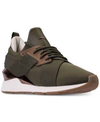 Muse Metallic Casual Sneakers