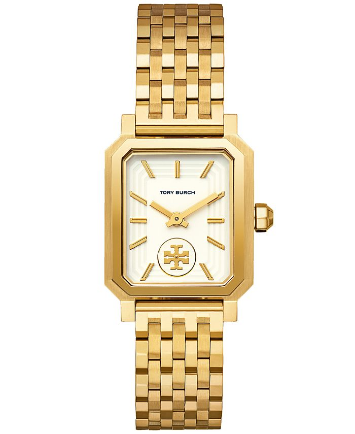 Tory Burch - Women's Robinson Gold-Tone Stainless Steel Bracelet Watch 27x29mm