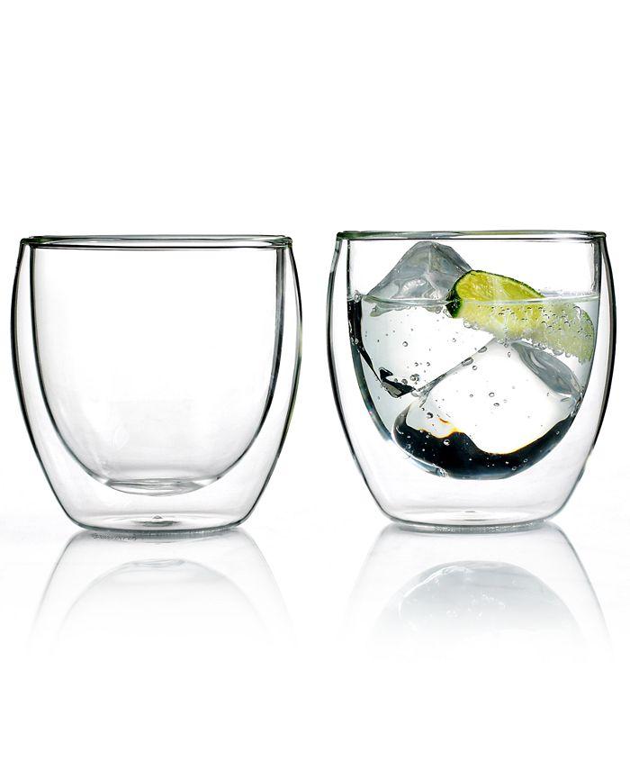 Bodum - Pavina Wall Glasses, 8.5 Oz. Set of 2