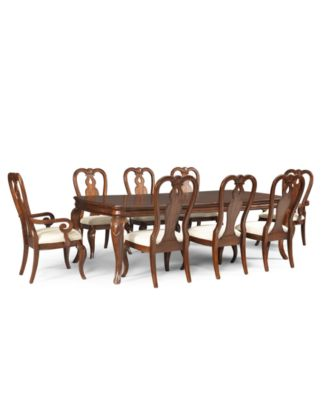 Bordeaux Louis Philippe Style 9 Piece Dining Room.