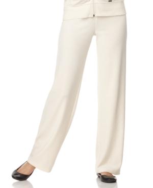 Calvin Klein Pants, Wide Leg Velour