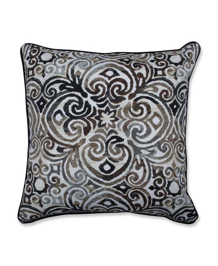 Pillow Perfect - Corinthian Driftwood 18.5-inch Throw Pillow (Set of 2)