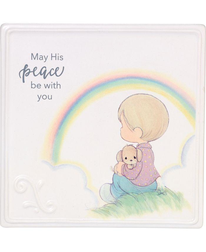 Precious Moments - c Wall Plaque 185052