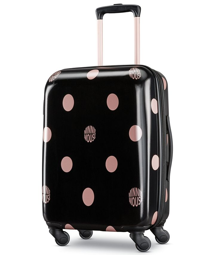 American Tourister - Minnie Mouse Dots Carry-On Spinner Suitcase
