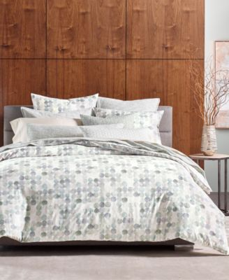 Seaglass Cotton Full/Queen Duvet Cover, Created for Macy's