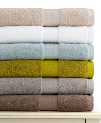 "Bianca Bath Towels, Organic 13"" Square Washcloth"