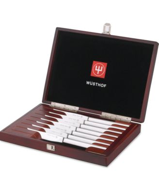 Wusthof 8-Piece Stainless Steel Steak Knives Presentation Set
