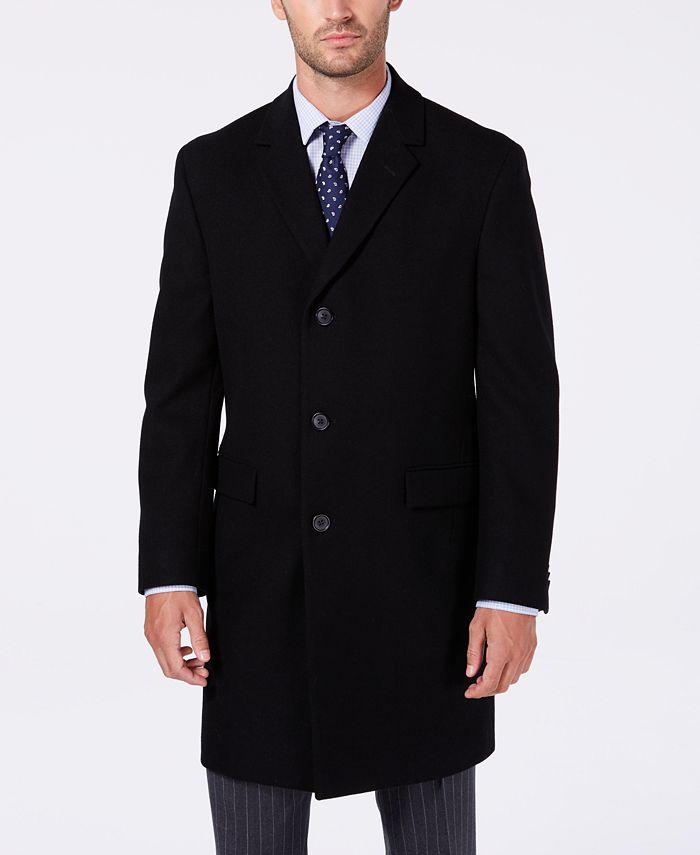 Nautica - Men's Classic/Regular Fit Batten Overcoat