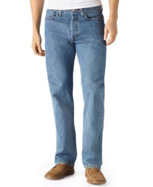 Levi's 501 Original-Fit Medium-Stonewash Jeans