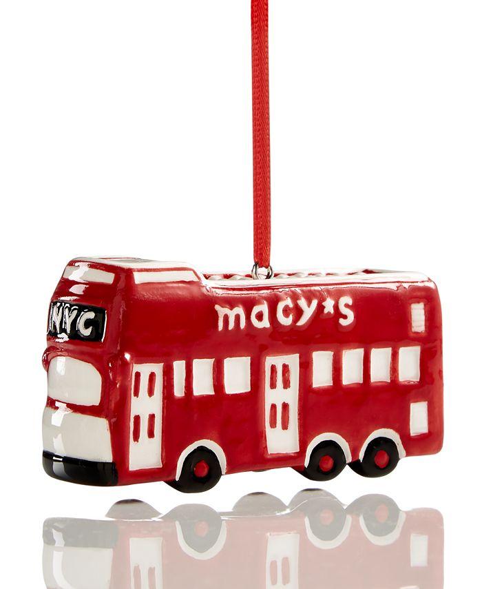 Macy's - Bus Ornament