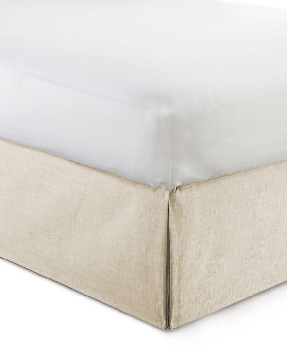 "Colcha Linens Cambric Vanilla Bedskirt 15""-Twin"