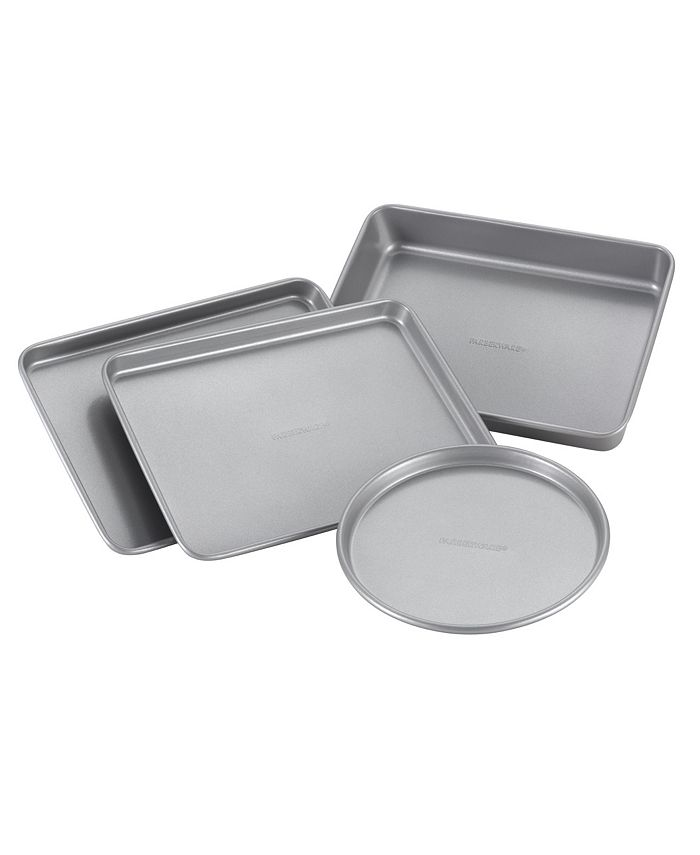 Farberware - Nonstick 4-Piece Toaster Oven Set
