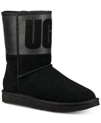 Women's Classic Short Sparkle Boots \u0026