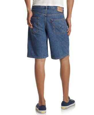 Levi's 550 Relaxed-Fit Light-Wash Denim Shorts - Shorts - Men - Macy's