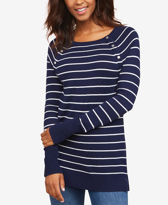 Motherhood Maternity - Striped Nursing Top