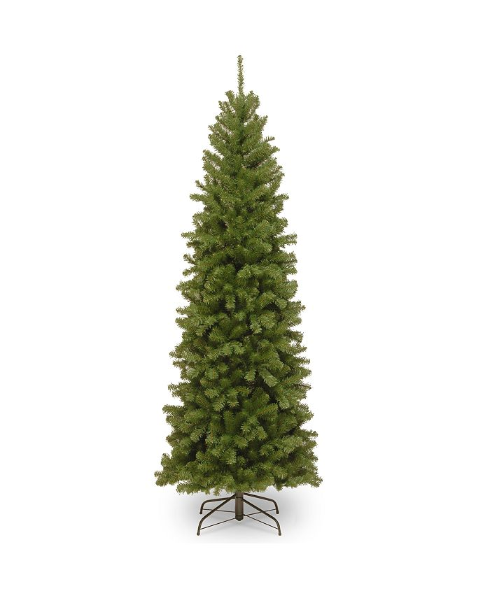 National Tree Company - 6' North Valley Spruce Pencil Slim Tree