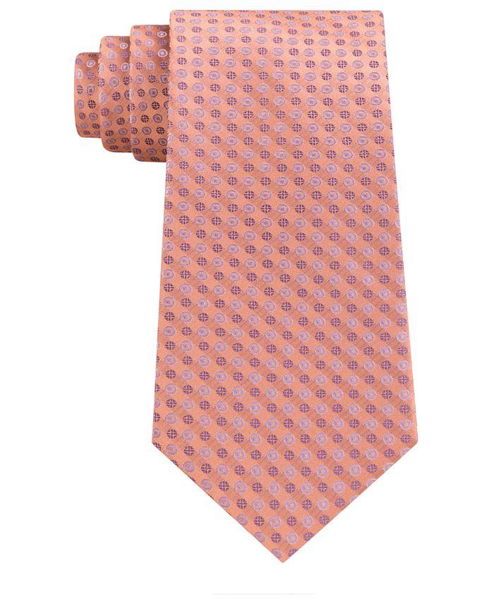 Calvin Klein - Men's Mini Bullseye Slim Silk Tie