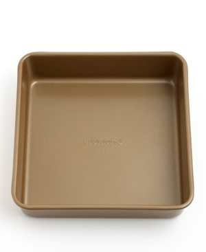 "Calphalon Simply Nonstick Cake Pan, 8"" Square Toffee"