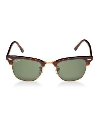 rb3016 49 clubmaster  Ray-Ban Sunglasses, RB3016 49 CLUBMASTER - Sunglasses by Sunglass ...