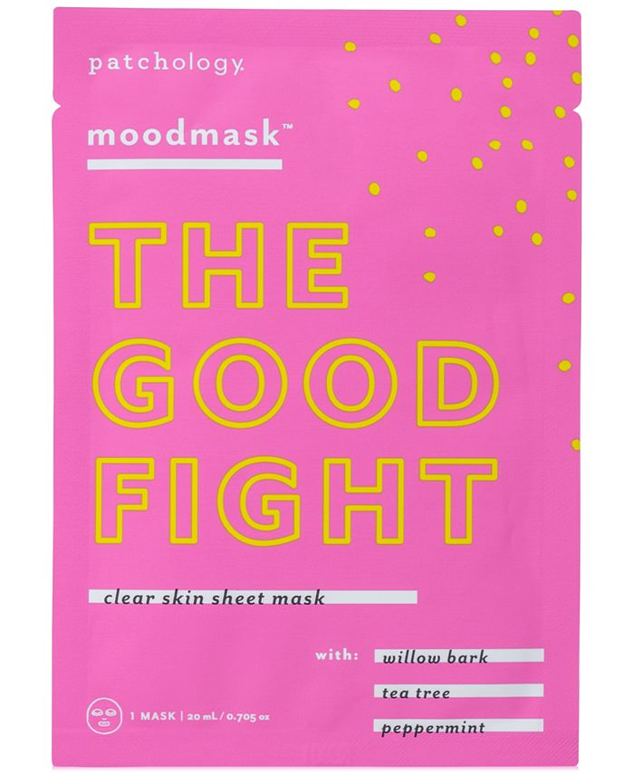 Patchology - Moodmask ''The Good Fight'' Clear Skin Sheet Mask