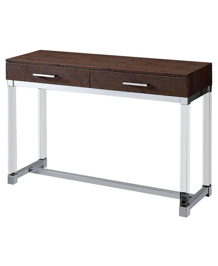 Furniture of America - Romano Sofa Table, Quick Ship