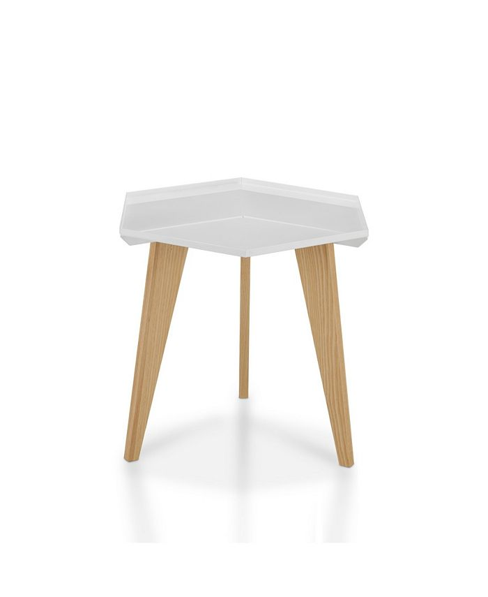 Furniture of America - Bok End Table, Quick Ship
