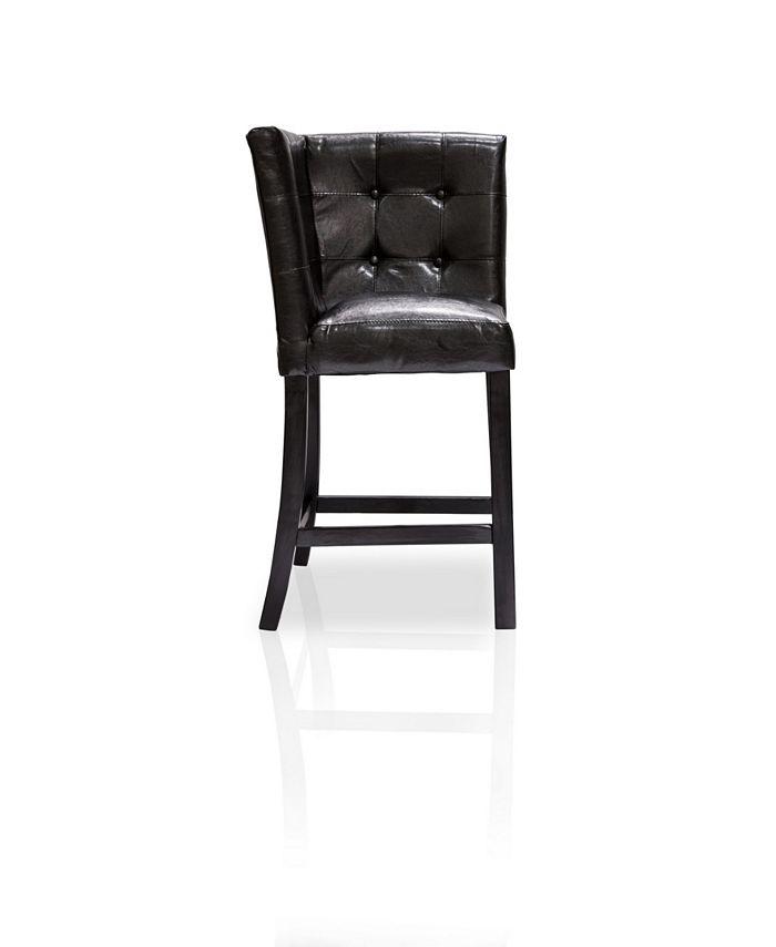 Furniture of America - Carribean Pub Chair, Quick Ship