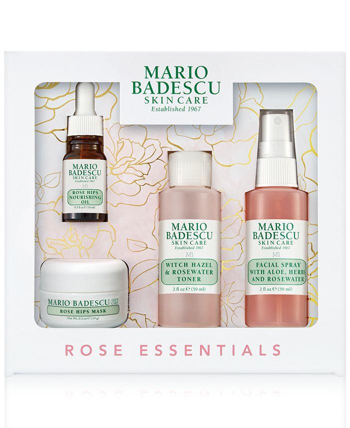 Mario Badescu - 4-Pc. Rose Essentials Set