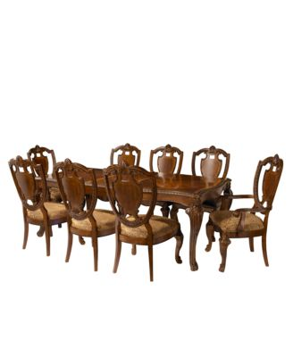 Royal Manor Dining Room Furniture 9 Piece Set