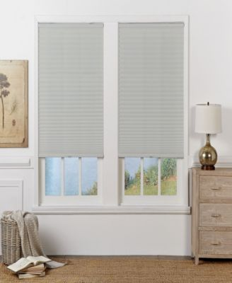 Cordless Light Filtering Pleated Shade, 26x64
