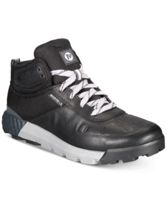 Lightweight Leather Mid Casual Boots