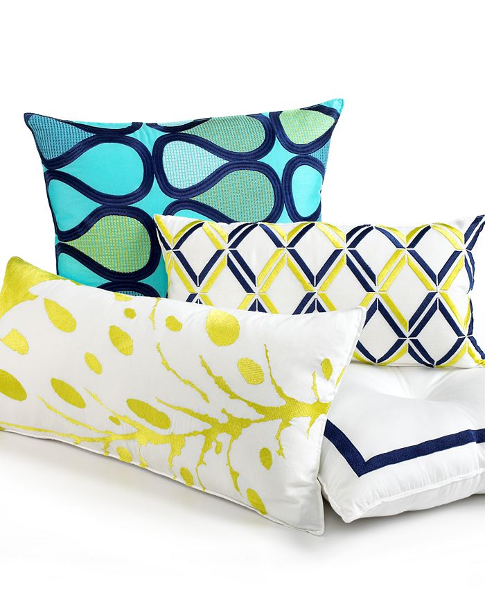 """Trina Turk - 20"""" Square Abstract Decorative Pillow"""