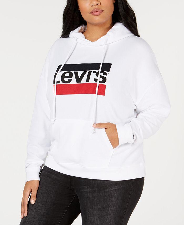 Levi's - Plus Size Logo Fleece Hoodie