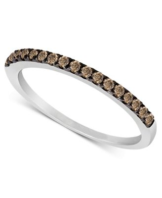 Le Vian Chocolate Diamond Pave Band 1 4 Ct T W In 14k