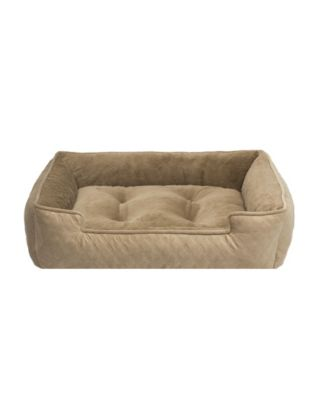 CLOSEOUT! Arlee Lounger and Cuddler Style Pet Bed, Medium