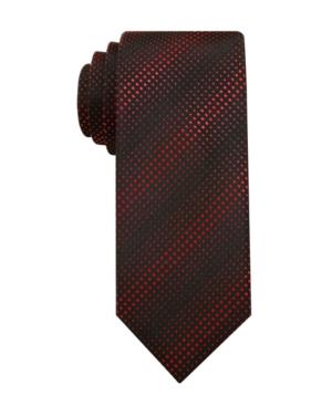 Alfani RED Tie, 2 3/4 Inch Barbados Dot Skinny Tie