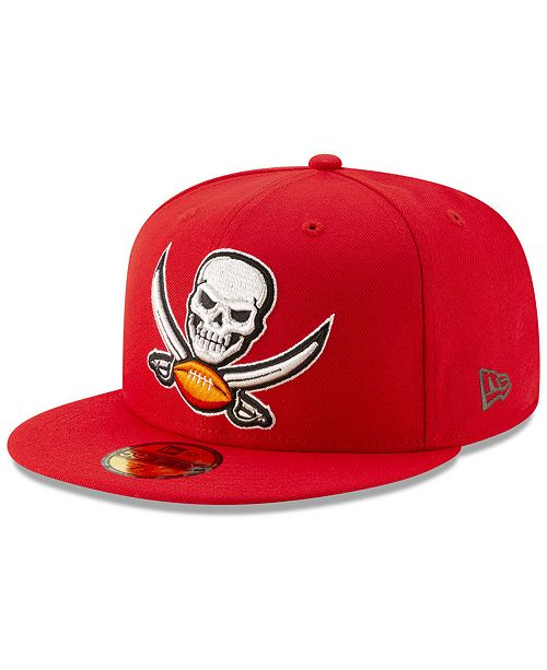 New Era Tampa Bay Buccaneers Logo Elements Collection 59fifty Fitted Cap Reviews Sports Fan Shop By Lids Men Macy S