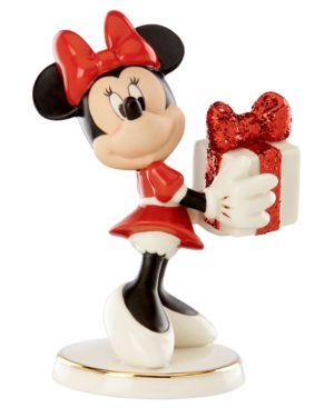 Closeout! Lenox Collectible Disney Figurine, Mickey Mouse and Friends Wrapped with Love by Minnie
